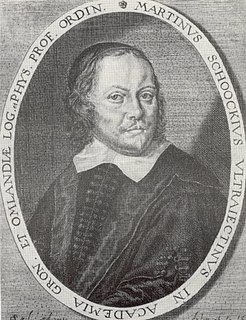 Martin Schoock Dutch academic