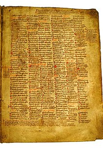 <i>Martyrology of Tallaght</i>