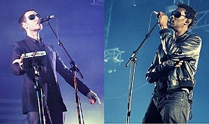 Massive Attack - Robert Del Naja and Daddy G at Eurockéennes, 2008