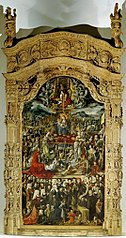 The Madonna with the Trinity, numerous biblical persons and donors