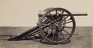 De Bange 90 mm cannon
