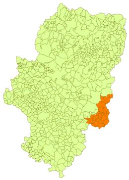 95e090ec66d2f Historical comarca. Matarranya historical region in Aragon