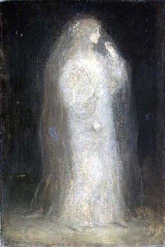 Matthijs Maris - Matthijs Maris, The Bride, or Novice taking the Veil, 1887
