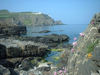 The Bondman (novel) - Maughold Head, where Stephen Orry suffers his fatal injury