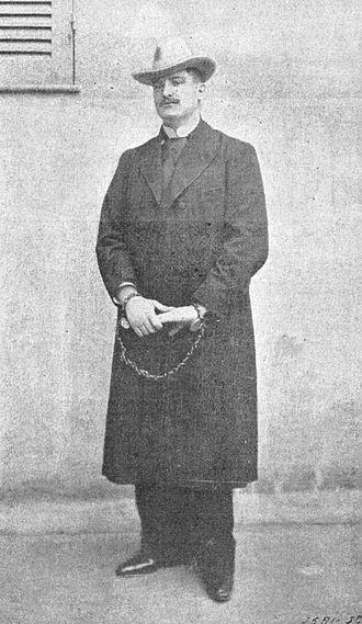 Max Régis - Max Régis in prison in Algiers.