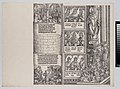 Maximilian's Prowess in the Chase; and The Legend of the Holy Coat of Treves; with Portraits of Emperors and Kings (Maximilian's Forerunners) from The Triumphal Arch of Maximilian I, 1st edition (1517-18) MET DP-16116-027.jpg