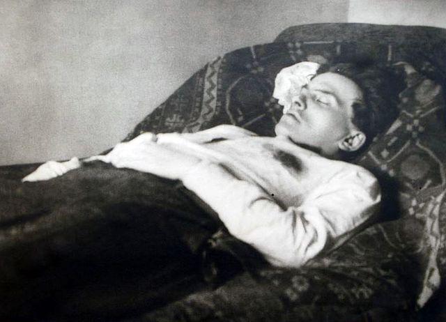 Тело В. Маяковского