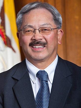 2011 San Francisco mayoral election - Image: Mayor Ed Lee Headshot Closeup (cropped 1)