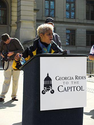 Shirley Franklin - Image: Mayor Shirley Franklin