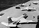 McDonnell F2H-3 Banshee of VF-52 aboard USS Bennington (CVA-20), circa in 1958.jpg