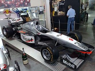 McLaren MP4/12 - Image: Mc Laren Mercedes MP4 12 1997