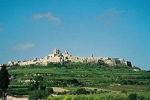 Islam in Malta - Mdina, capital of Muslim ruled Malta.