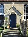 Meadrow Unitarian Chapel, Meadrow, Godalming (April 2015) (Porch).JPG