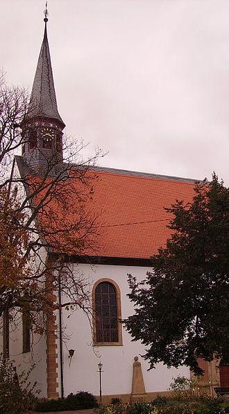 Meckenheim, Rhineland-Palatinate - Evangelical church