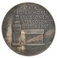 Medalj över Nils Collin 1938 Kungliga Vetenskapsakademien Church.tiff