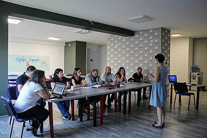 Meeting of AGBU WikiClubs coordinators, 15-16 June 2018, Wikimedia Armenia 03.jpg