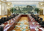 Meeting of the Chinese President with the heads of military delegations of the SCO member States (2018) 03.jpg