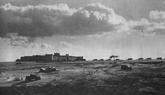 1st Infantry Division (South Africa) - Mega Fort, prior to the attack. 1941