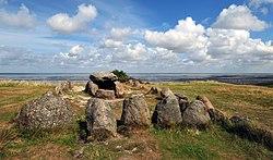 Megalithic grave Harhoog in Keitum, Sylt, Germany.jpg