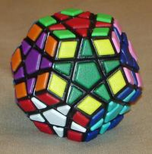 Megaminx - The 12-color Megaminx, in a star-pattern arrangement