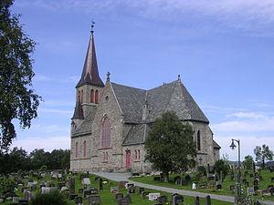 Melhus Church - Image: Melhus kirke 001