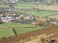 Melrose and its Abbey from Eildon Hill - geograph.org.uk - 984673.jpg