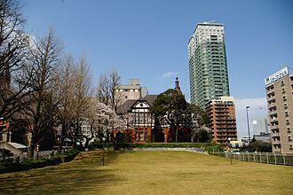 Meiji Gakuin University - The school at daytime
