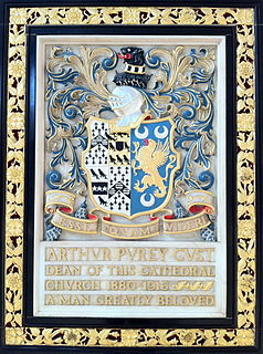 Arthur Purey-Cust priest and author from England