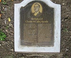 Charles A. Callis - Image: Memorial to Charles A. Callis geograph.org.uk 543188