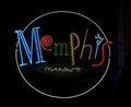 Memphis Music neon sign, Beale Street, Memphis, Tennessee LCCN2010630375.tif