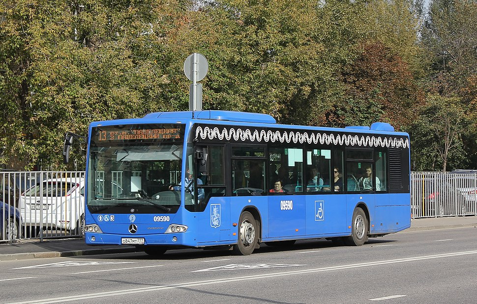 Mercedes-Benz O345 in Moscow
