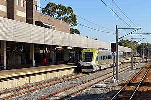 Public Transport Centre - AvonLink service at East Perth Terminal in January 2015