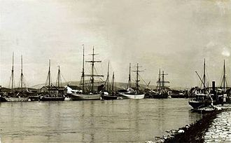 Port of Ploče - Port of Metković, now a part of the Port of Ploče, between the World Wars