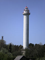 Miķeļbāka (Miķeļtornis) / Mikelbaka lighthouse. Author Alvals.