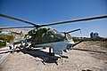 MiL MI-24 helicopter gunship in the Herat Military Museum.jpg