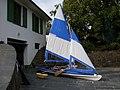 Mi velero Klepper en seco1 - panoramio.jpg