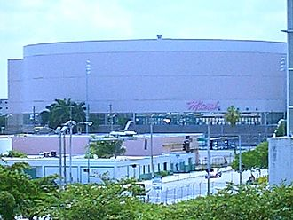 History of the Miami Heat - The Heat played their home games in the Miami Arena from 1988 to 1999