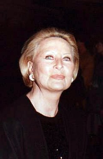 Michèle Morgan - Morgan in 1995