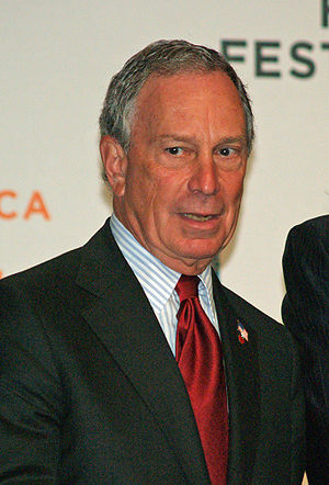 New York City Mayor Michael Bloomberg opening ...