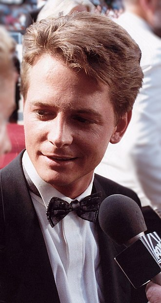 Michael J. Fox - Fox at the 40th Emmy Awards, August 1988