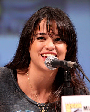 Michelle Rodriguez at the 2010 Comic Con in Sa...
