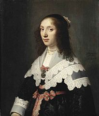 Portrait of Agatha de Vlaming van Oudtshoorn
