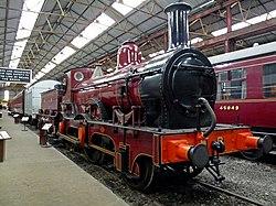 Midland Railway 2-4-0 Kirtley 156 Class Number 158A (6137506590).jpg