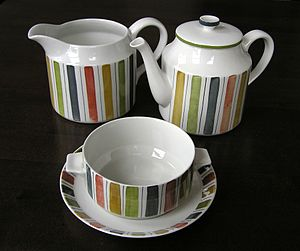 Midwinter Pottery - Midwinter ware from the Mexicana range