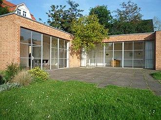 Lemke House - Image: Mies van der Rohe Haus Berlin, 2
