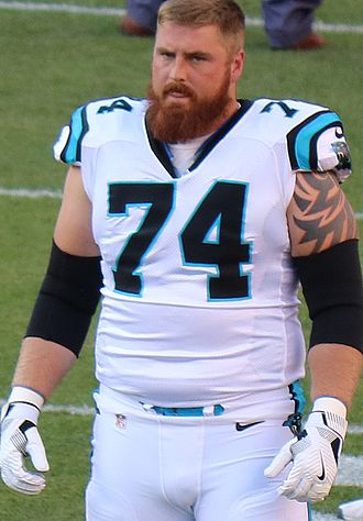 Mike Remmers - Remmers with the Panthers in 2016