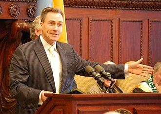 Mike Stack - State senator Mike Stack, 2009
