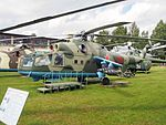 Mil Mi-24A Hind-B at Central Air Force Museum pic3.JPG