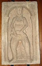 Milano, Castello sforzesco - Donna impudica sec. XII - da Porta Tosa - Foto Giovanni Dall'Orto 6-gen-2007 - 01.jpg