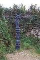 Milepost at Mayon Cliff - geograph.org.uk - 43514.jpg